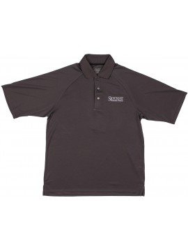 BIG & TALL Adult Extreme Performance Gray Short Sleeve Polo