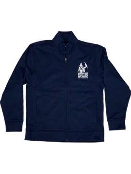 Youth Navy Zipper Jacket