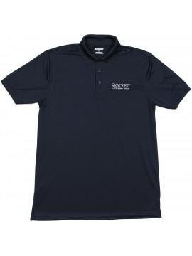 Adult Elderado Navy Short Sleeve Polo