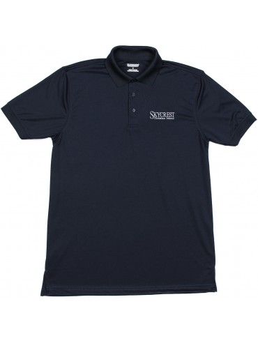 Adult Elderado Navy Short Sleeve Polo
