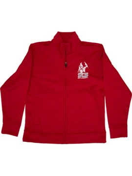 Youth Red Zipper Jacket