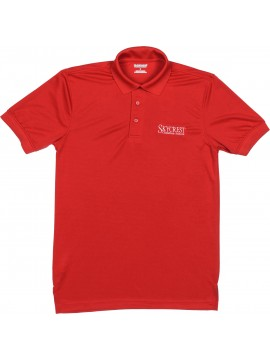 Adult Elderado Red Short Sleeve Polo