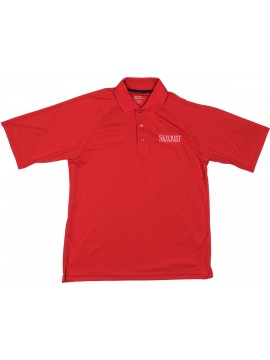 5. BIG & TALL Adult Extreme Performance Red Short Sleeve Polo